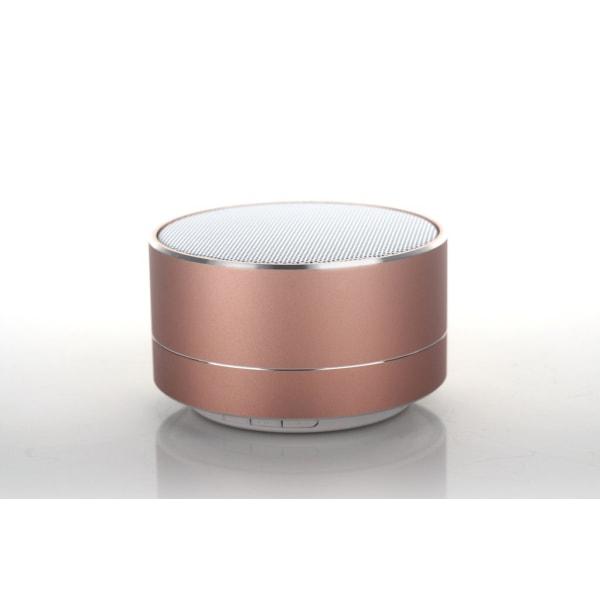 A10 LED Mini Bluetooth högtalare Röd
