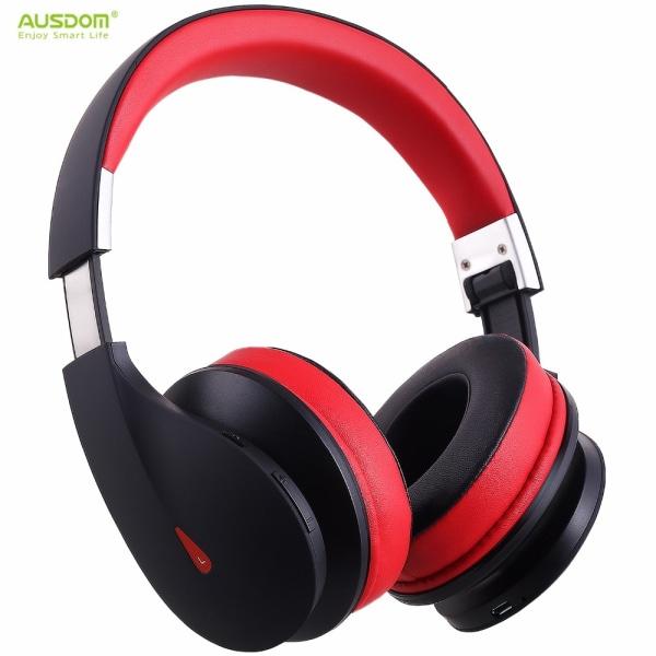 Ausdom AH2 Bluetooth V4.0+EDR trådlösa hörlurar  Svart