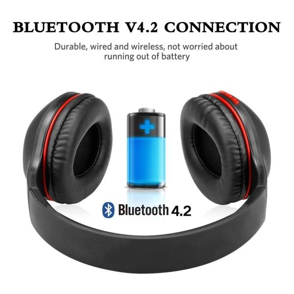 AUSDOM M09 Bluetooth 4.2 med minneskortsplats Svart