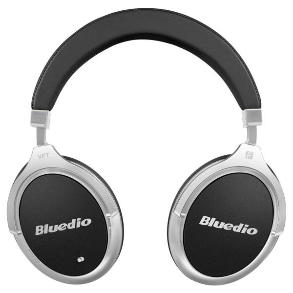 BLUEDIO F2 ANC- Aktiv brusreducering, BT 4,2 Svart