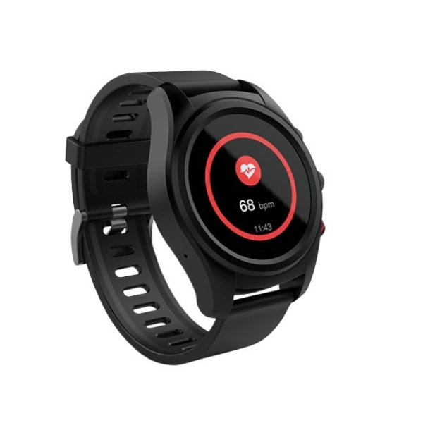 Nordic Active S10+ Sportklocka GPS Svart
