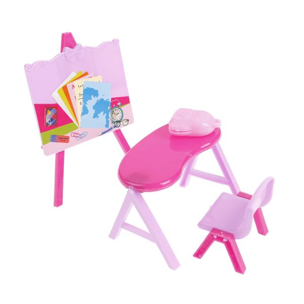 1:12 dockhus skrivbordsstol svarta tavlan skrivbordsmöbler tillgång
