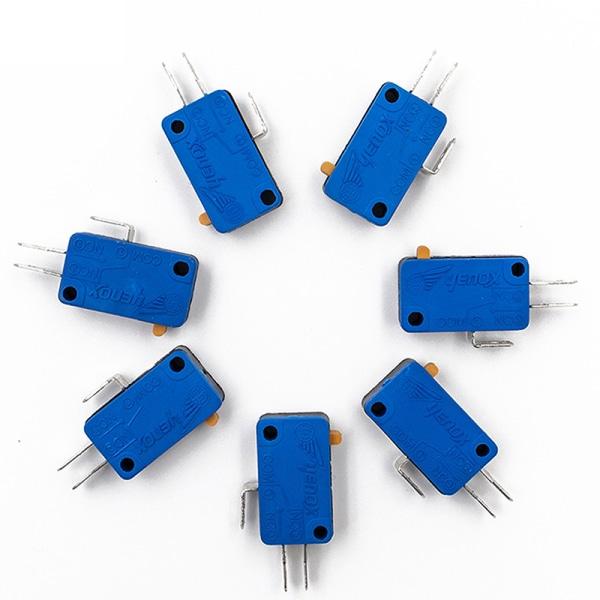 10st Microswitch Micro Tripod No Chip Micro-knappterminaler G