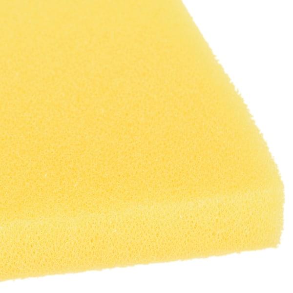 1 st 50x50cm Gul biokemisk bomullsfilter Skumsvamp Aquari