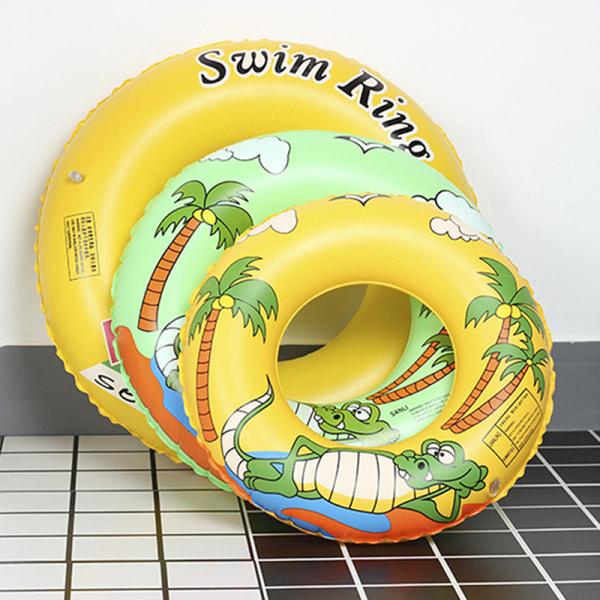 1pc Simning Ringar Beach Uppblåsbara Float Circle Water Fun Seat