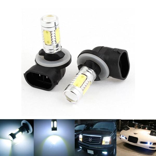 2 X bil LED-lampa 881 7,5W LED SMD dimljus körlampa för H