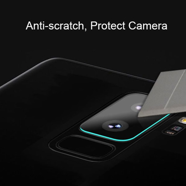 2x Samsung Galaxy S9 / S9Plus 0,2 mm bakre kameralins Härdad Gla