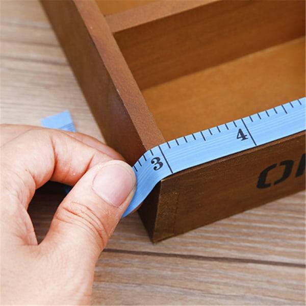 6st användbar kroppsmätning Linjal Sömnad skräddare måttband Sof