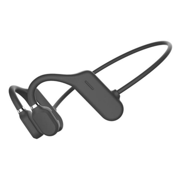 Bone Conduction Headset Bluetooth 5.0 Wireless Outdoor Sport Op Black