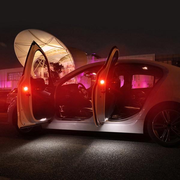 Varningsljus för bildörröppning Trådlös strobe blinkande Decora