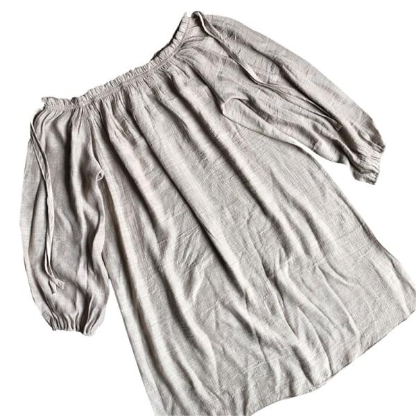 bomulls strandklänning täcka upp sarong simma badkläder av axel b
