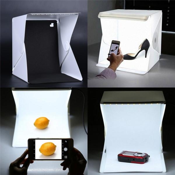 Mode Fotostudiobelysning Bärbar mjuk LED Lig