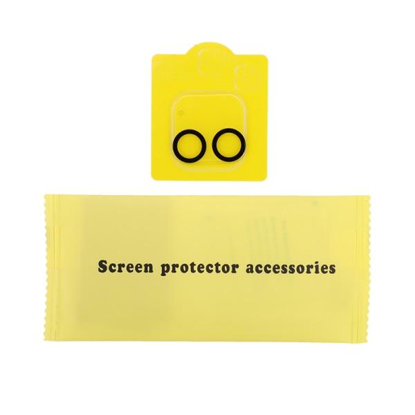 För iPhone 12/12 Pro Max härdat glas kameralinsskydd F