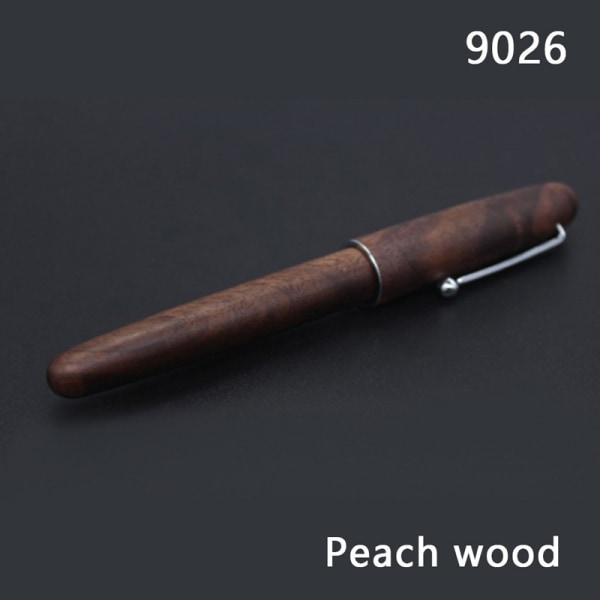 Reservoarpenna 0,7 mm persika / rosenträ affärsgåvor skrivande av