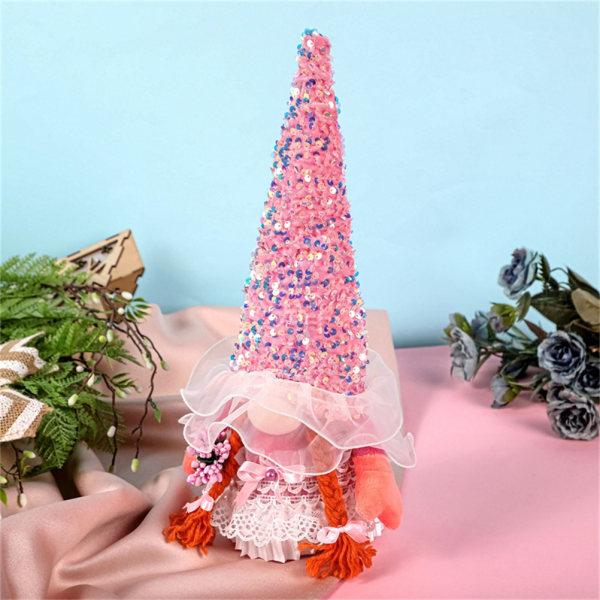 självständighetsdagen dekoration dvärg gnome ansiktslös plysch docka holi