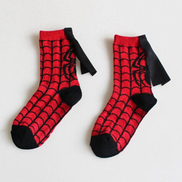 Barnstrumpor kappa superman spiderman pojkar flickor cosplay sport