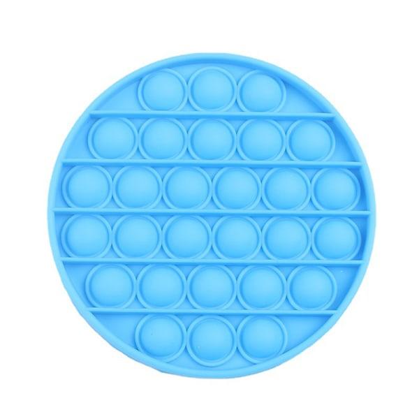 Pop it Fidget Toy Bubble Sensory Fidget Toy Sky Blue circular