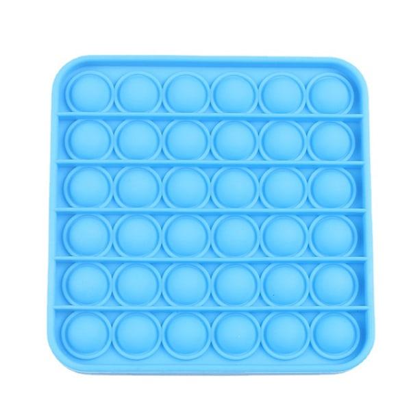 Pop it Fidget Toy Bubble Sensory Fidget Toy Sky Blue square