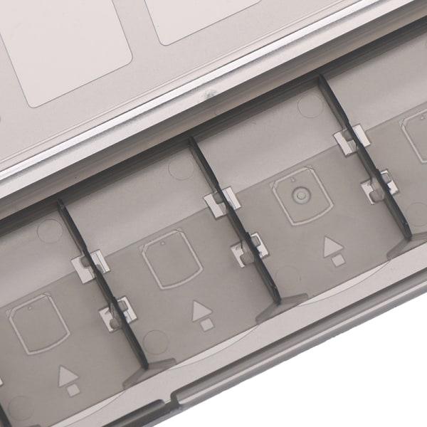 Bärbar 10-i-1-minneskorthållare Fodral förvaring för S