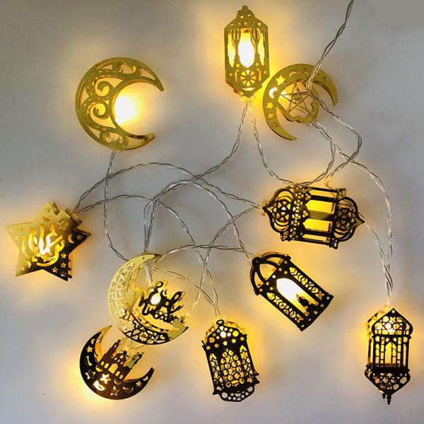 Ramadan Led String Lights EID Mubarak Decor For Home Islam Musl A