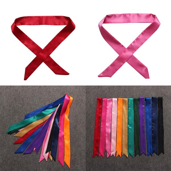 Scarves Lady Ribbon Bundet Väskahandtaget Dekorationsband Fashi
