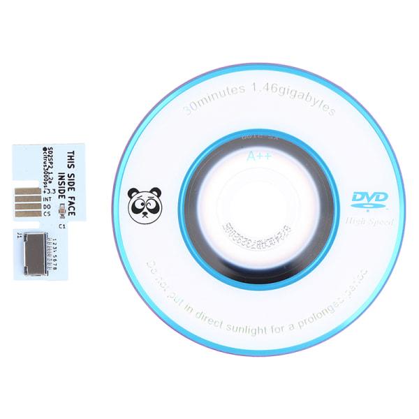SD2SP2-adapter TF-kortläsare + Swiss Boot Disc Mini