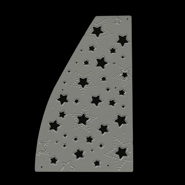 Stjärnor Bakgrund Metal Stansmunstycken för DIY Scrapbookin