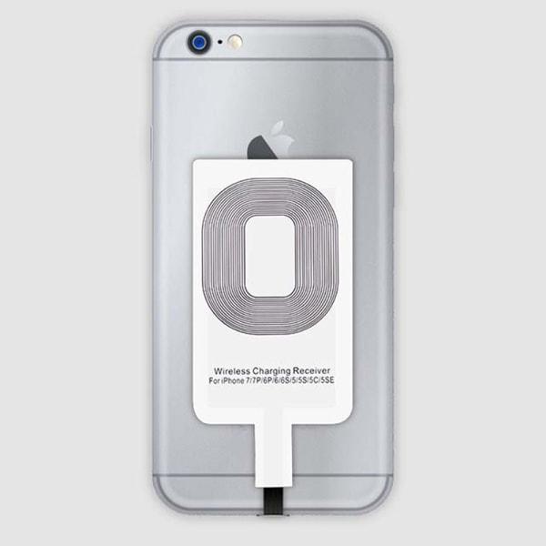 Stöd Micro USB Type C Qi Trådlös laddningsadapter Induktion R