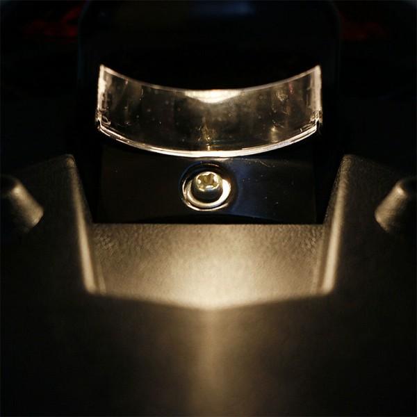 Universal Motorcykel Bakskärm Stänkskärm LED Broms Bakljus