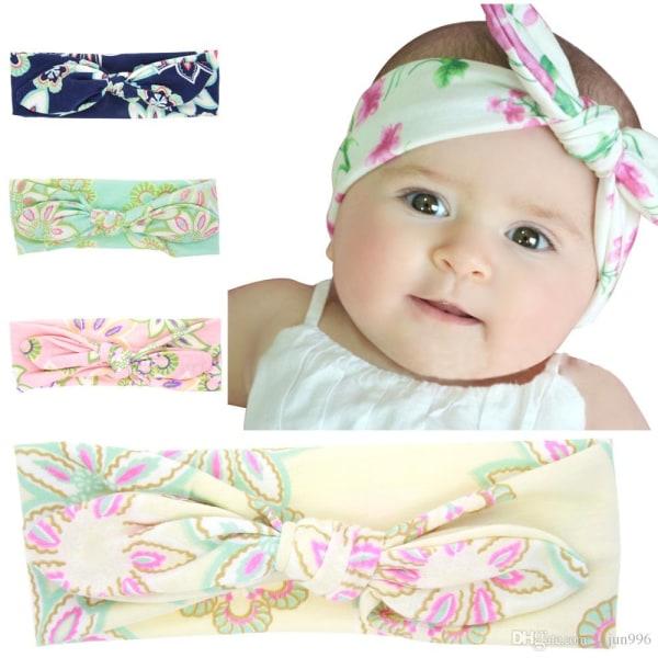 Baby hårband Princess flicka BLÅ