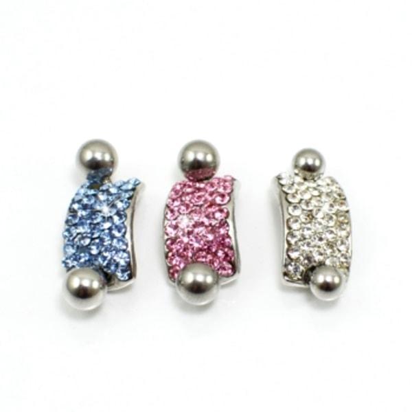Navelpiercing Piercing smycken  RÖD