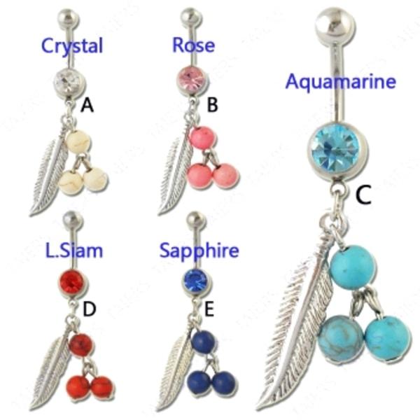 Navelsmycken  Sapphire