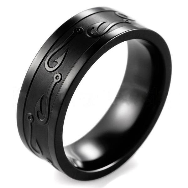 Rostfritt stål ring  21