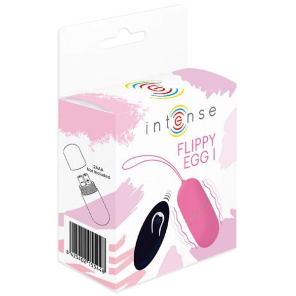 INTENSE FLIPPY Trådlöst vibrerande ägg med fjärrkontroll Rosa
