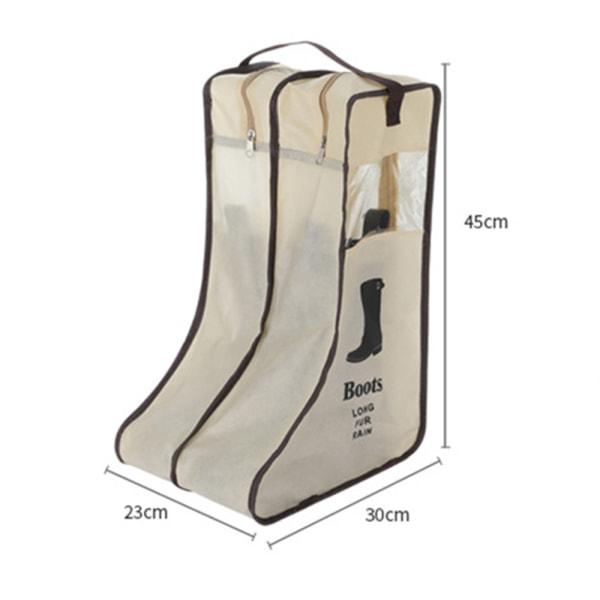 Reseskopåse Skopåse Förvaring Researrangörsväska för sko black S