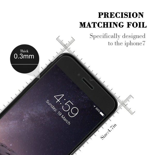 0.26 mm Anti-Explosion Tempered Glass till iPhone 8/7/6S/6 Plus