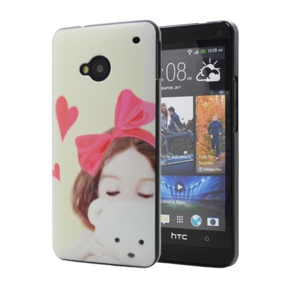 Baksideskal till HTC One (M7) (Teddy Girl)