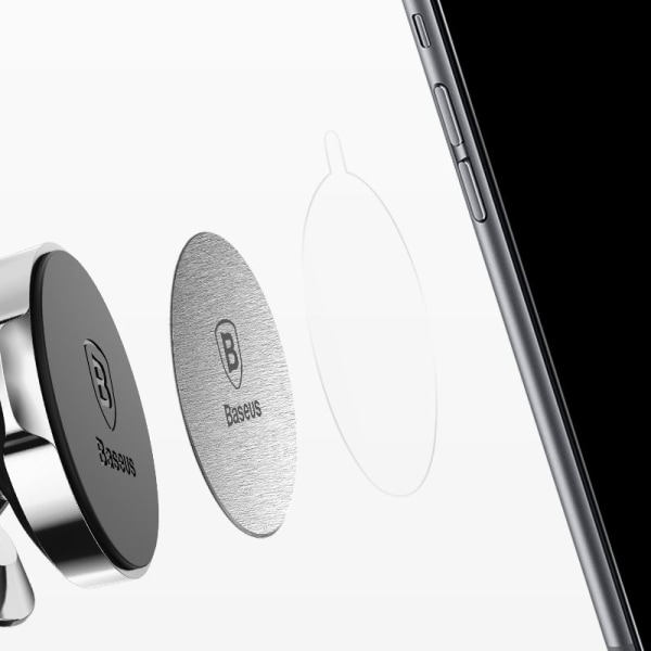 Baseus Mis2 Metallplatta Magnetic Car Mount