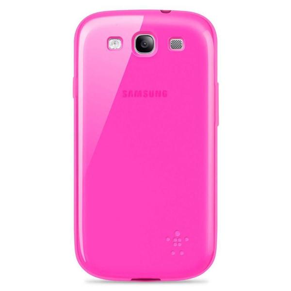 BELKIN FlexiCase Skal till Samsung Galaxy S3 i9300 (Rosa)