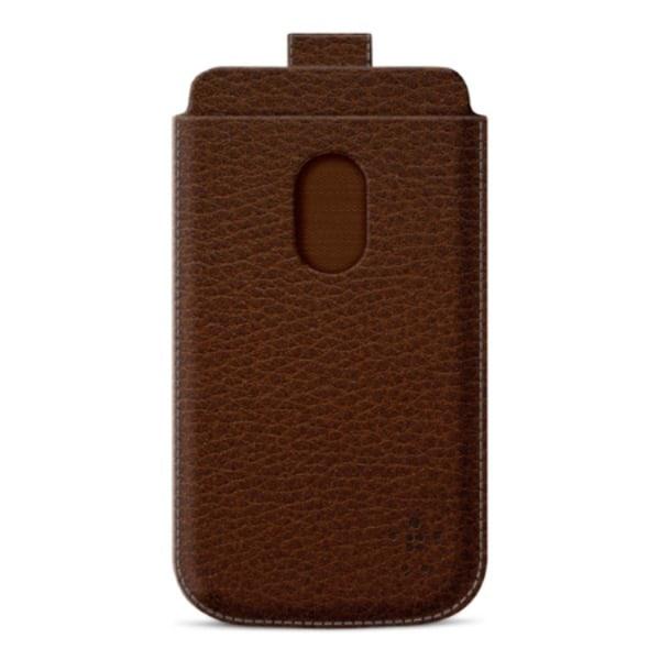 BELKIN Pocket fodral för Samsung Galaxy S3 (Brun)