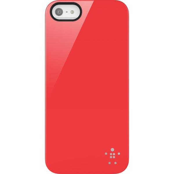 BELKIN Shield Skal till Apple iPhone 5  /  5S  /  SE(Röd)