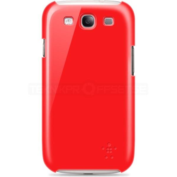 BELKIN skal tillSamsung Galaxy S3 i9300 (Röd)