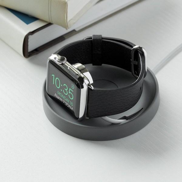 Bluelounge Kosta, limegrön - Apple Watch laddningsunderlägg