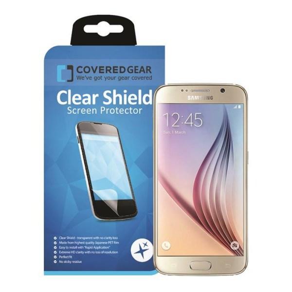 CoveredGear Clear Heltäckande skärmskydd - Samsung Galaxy S6 Edg