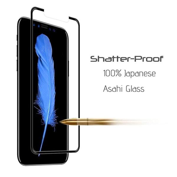CoveredGear härdat glas skärmskydd till iPhone X