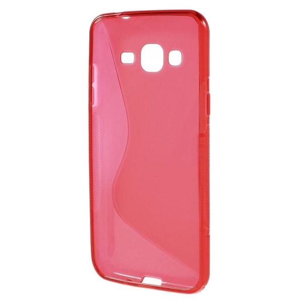 Flexicase Skal till Samsung Galaxy J3 (2016) - Röd