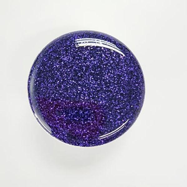 Glitter POP Mobilhållare - Blå