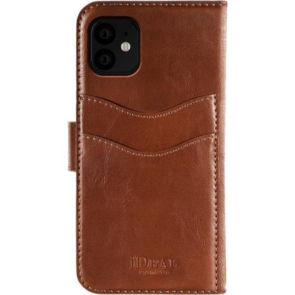 iDeal of Sweden Magnet Wallet+ till iPhone 11 - Brun