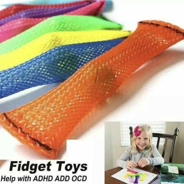 Marble and Mesh Sensory Fidget Toy - 4 Pack