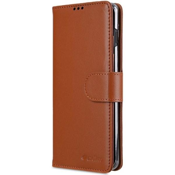 Melkco Plånboksfodral till Samsung Galaxy S10 Plus - Brun